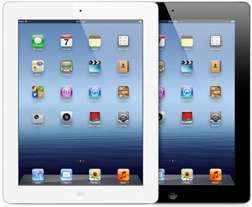 iPad 4th generation in White or Black