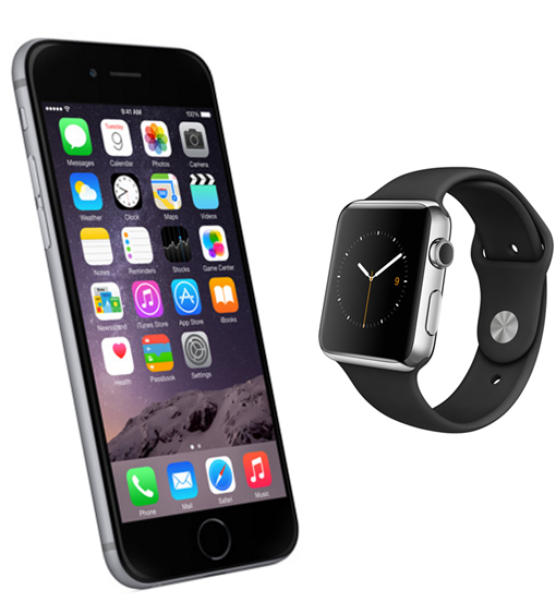 New iPhone6 and Apple Watch